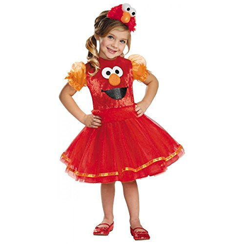 Deluxe Elmo Tutu Toddler Costume