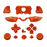 WPS Matte ABXY Dpad Triggers Full Buttons Set Mod Kits for Newest Xbox One Controller (3.5mm Port) with Screwdriver (Torx T6 T8) Set (Amber) (Color: amber)