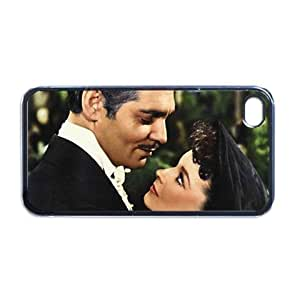 Gone with the wind Apple iPhone 4 or 4s Case / Cover Verizon or At&T Phone Great Gift Idea