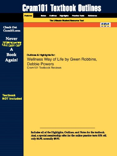 Studyguide for Wellness Way of Life by Gwen Robbins, ISBN 9780073376400
