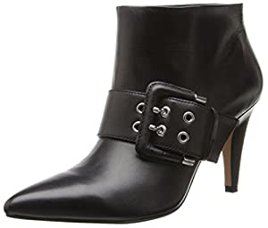 Nine West Women's Pickme Boot,Black,10.5 M US
