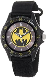 Batman Boys' Black Time Teacher Watch BAT5038 Educational New Free Shipping
