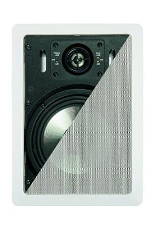 """Artsound Gold Series Encastrables DC1000 Haut-parleurs multimédia Design """"rectangulaire"""" 160W Blanc"""