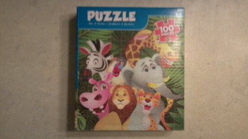 Cartoon Animal Puzzle !00 Pieces