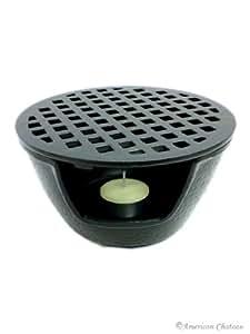 Cast Iron Teapot Warmer 5-3/4in Black #tw1