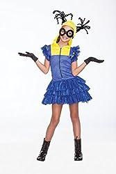 Halloween Wholesalers Girl's Evil Master Helper-Small/Medium Blue