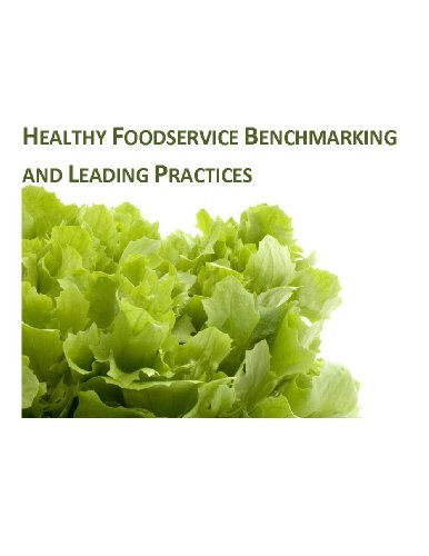 Healthy Foodservice Benchmarking And Leading Practices