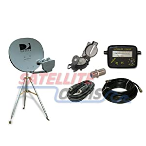 Directv 18x20 Satellite Dish Rv Tripod Kit
