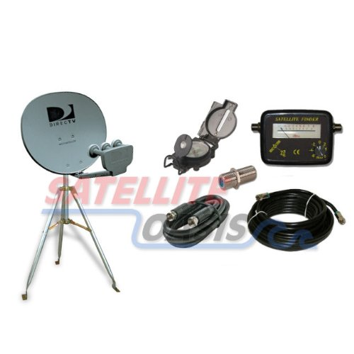 Review Of Directv 18x20 Satellite Dish Rv Tripod Kit