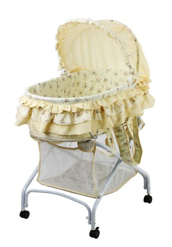 Best Buy! Dream On Me 2 in 1 Bassinet to Cradle, Yellow