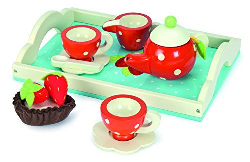 Le Toy Van Honeybake Tea Set - Strawberry Design