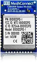 Bluetooth / 802.15.1 Modules CSR1010 IC +8dBm Pout Trace Ant (5 pieces)