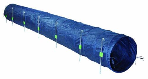 Trixie Dog Activity Agility Basic Tunnel, 60 cm × 5 m, Blue