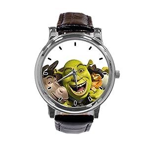 [ZhuYou] Custom Funny Shrek Forever After Fashion Design Personalized Men Women Wrist Watch Leather Band Men's Sport Watch hot!