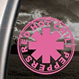 Red Hot Chili Peppers Pink Decal Band Truck Window Pink Sticker