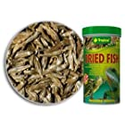 Dried Fishes – 100% natural food for Reptiles, Turtles and Large Aquarium Fishes – from Tropical – 100ml