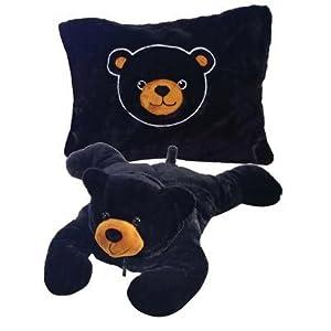 Fiesta Peek-a-Boo Plush 18'' Black Bear