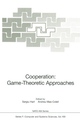 Cooperation: Game-Theoretic Approaches (Nato ASI Subseries F:)