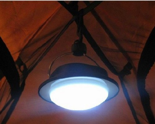 Nuoya001 Camping Outdoor Light 60Led Portable Tent Umbrella Night Lamp Lantern