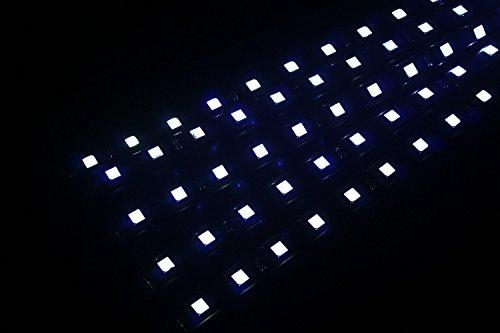 ABN 30cm Flexible étanche LED autocollant bande ruban adhésif Lot de 5(Blanc)