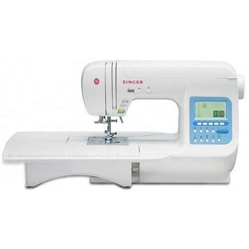 Singer 9970.Cl Stylist Electric Sewing Machine, 600 Stitches - 13 Bh, 5 Fonts, Mirror Image, Needle Up / Down