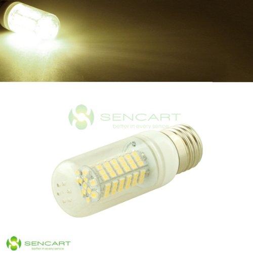 E27 Led 12V-24V 102 Smd 3528 W/Cover 5W Energy-Saving Warm White Light Bulb