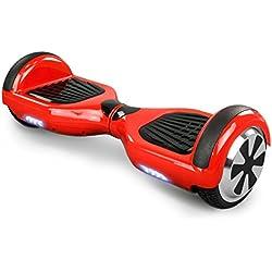 Smart Elektro Elektroroller Skateboard Tretroller Driveboard Roller (Rot)