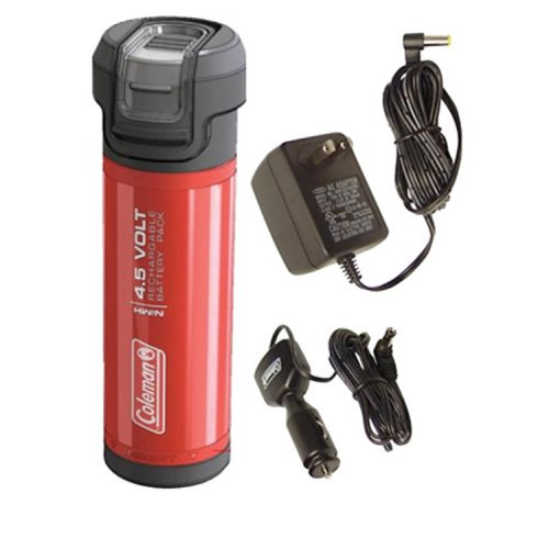 Coleman Company Cpx 4.5 Gear With 4.5V Rechargeable Power Cartridge, Red/Black
