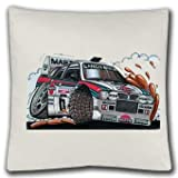 Personalised Koolart Lancia Monte Carlo Car satin feel Cushion