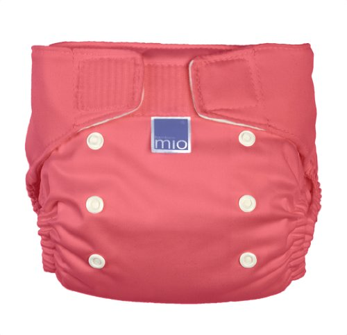 Bambino Mio Miosolo All-In-One Cloth Diaper, Coral front-1023518