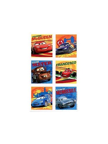 Disney Cars Party Sticker (4-pack) - 1