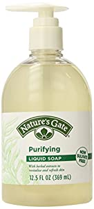Nature's Gate Liquid Soap, Purifying, 12.5-Ounce Bottles (Pack of 4)
