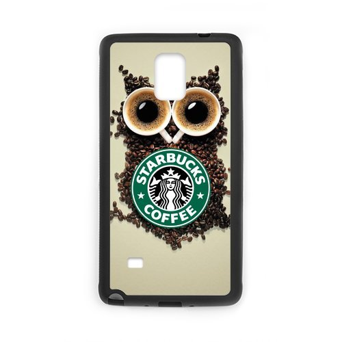Custom Mobile Phone Shell Starbucks Coffee Custom Case For Samsung Galaxy Note 4 (Laser Technology) Cases