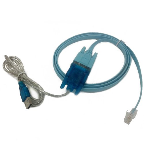 HDE USB to Serial Interface Cable with Serial to RJ45 Console Adapter Cable for Cisco Routers