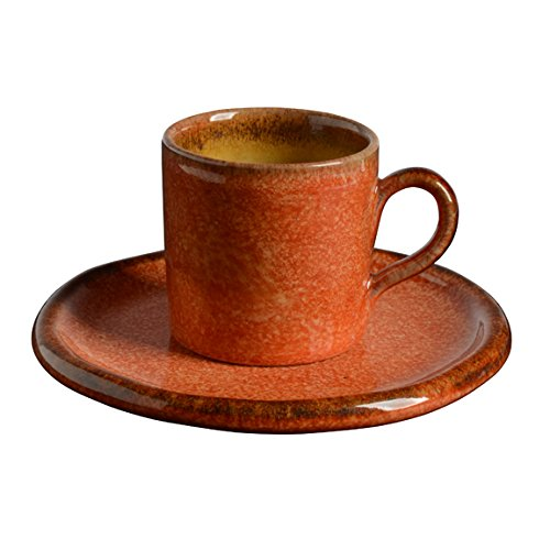 Italian Dinnerware - Espresso Cup and Saucer - Handmade in Italy from our Taormina Collection (Espresso From Italy compare prices)