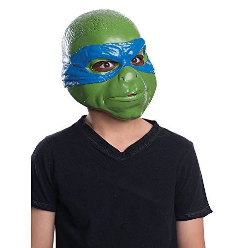 Rubies Teenage Mutant Ninja Turtles Movie Leonardo Child 3/4 Child Mask - 1