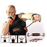 Versa Gripps? PRO Glove Weight Lifting Straps Hooks [Misc.] (Neon Orange/Black, Small)