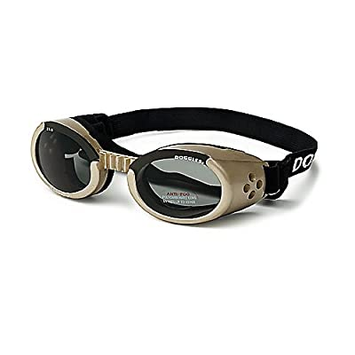 ILS Lense Dog Goggles in Chrome Size-See Chart Below: Extra Large