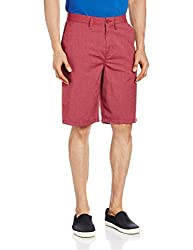 VANS Men's Cotton Shorts (8907222569686_VN000O4VJ52_30_Rhubarb Heather)