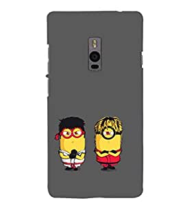 EPICCASE Karate Minions Mobile Back Case Cover For OnePlus 2 (Designer Case)