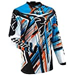 Thor Motocross Youth Phase Stix Jersey - X-Small/Blue