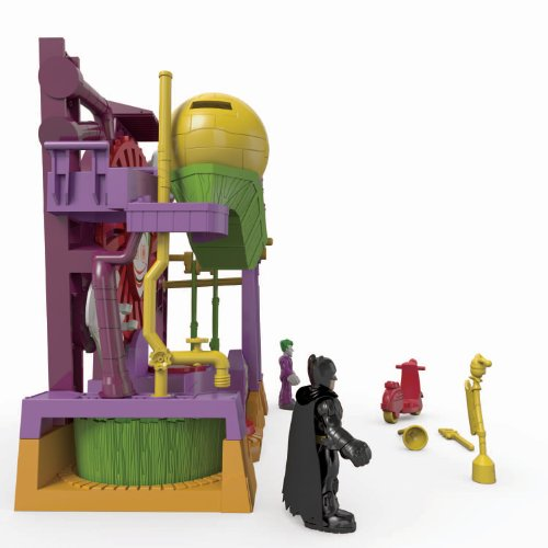 Fisher-Price Imaginext DC Super Friends The Joker Laff Factory at Gotham City Store