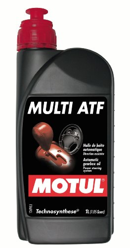 Motul 844911 Multi Technosynthese (ATF) Automatic Transmission Fluid - 1 Liter (Power Steering Fluid Dexron Atf compare prices)