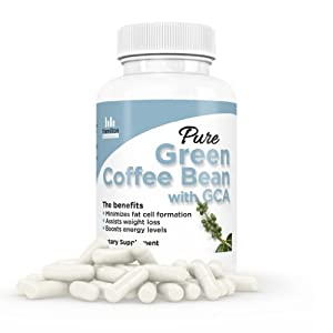 Pure Green Coffee Bean Extract Max Ultra Formula With Gca Mentioned By Dr Oz These Premium All Natural Weight Loss Diet Pills Are Made In The Usa In A Fda Registered And Gmp Certified Facilty 100 Money Back Guarantee Plus Free Bonus Membership To The Slim
