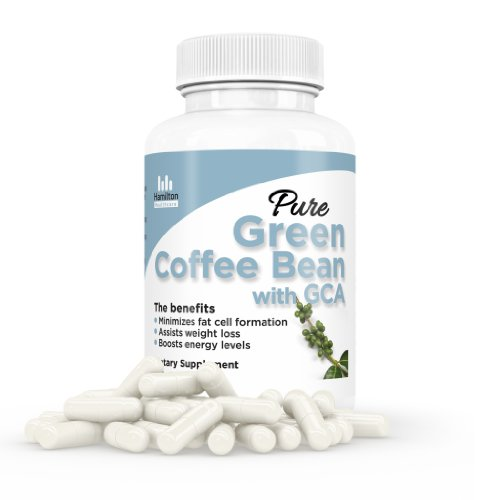 Pure Green Coffee Bean Extract Max Ultra Formula with GCA These Premium All Natural Weight Loss Diet Pills Are Made in the USA in a FDA Registered and GMP Certified Facilty 100% Money Back Guarantee Plus FREE Bonus Membership to the Slim Down Blueprint