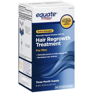 Equate - Hair Regrowth Treatment for Men  Minoxidil