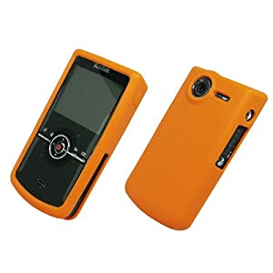 EMPIRE Orange Silicone Cover Case for Kodak ZI8 Pocket Video Camera [Retail Packaging]