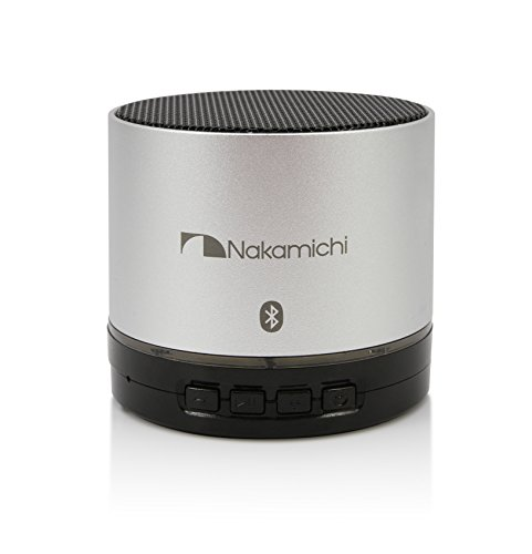 Nakamichi BT06S Series Round Bluetooth Speaker - Retail Packaging digital treasures lyrix jive jumbo bluetooth speaker speakers retail packaging