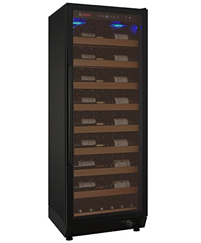 Best Buy! Allavino YHWR115-1BRN 115 Bottle Single-Zone Wine Cellar Refrigerator - Black Door
