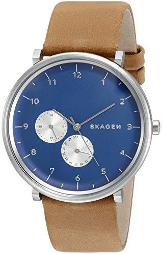 Skagen - SKW6167 - Montre Homme - Quartz - Analogique - Bracelet cuir Marron